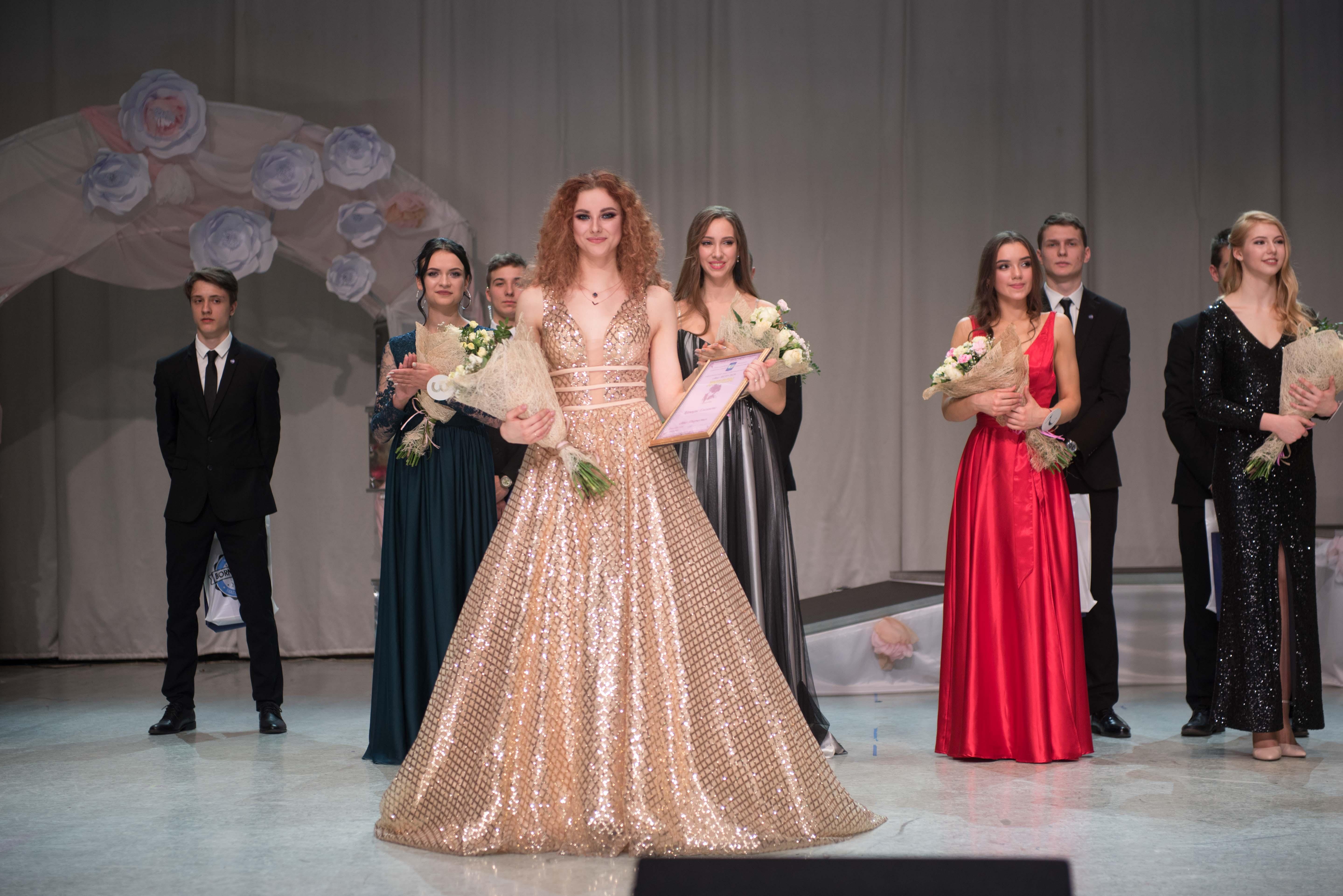 Первая вице-мисс МГЛУ 2019 - Казакова Елизавета