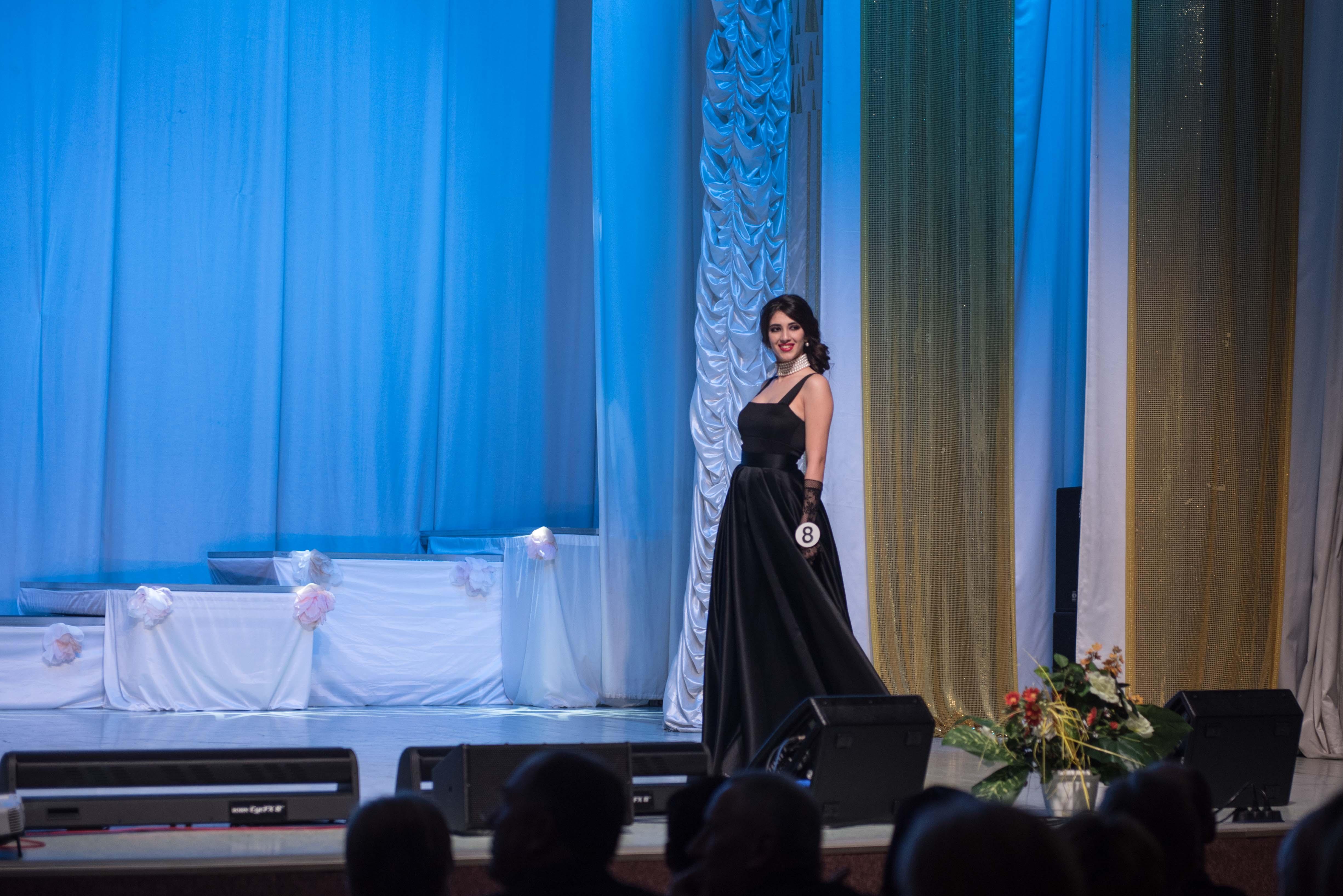 Вторая вице-мисс МГЛУ - 2019 - Кадыева Солмаз